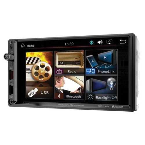 Power Acoustik PL-700HB PL-700HB 7-Inch Double-DIN In-Dash All-Digital Media Receiver with Bluetooth and Android PhoneLink