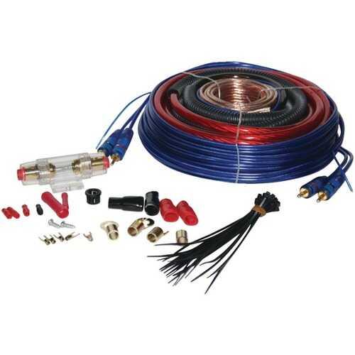 Pyle PLAM40 4-Gauge 1,600 Watt Amp Installation Kit