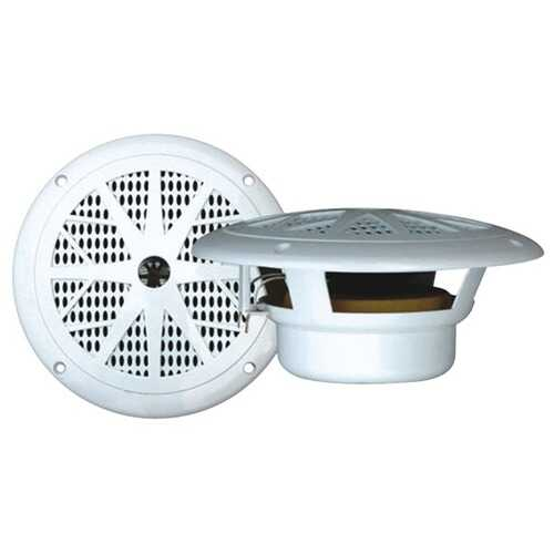 "Pyle PLMR61W Hydra Series Dual-Cone Waterproof Stereo Speakers (6.5"")"