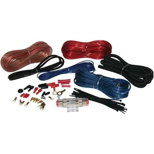 Pyle PLMRAKT8 Hydra Series 8-Gauge Amp Marine-Grade Installation Kit