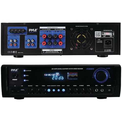 Pyle Home PT390BTU Digital Home Theater Bluetooth Stereo Receiver