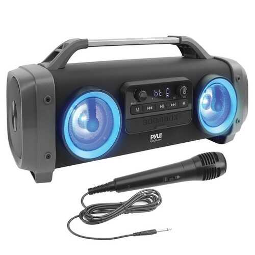 Pyle PBMSPG144 Portable Bluetooth Speaker Radio System