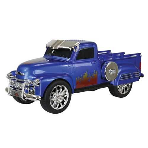 QFX BT-1953BLU Chevy On the Go Light and Sound Bluetooth Speaker (Blue)