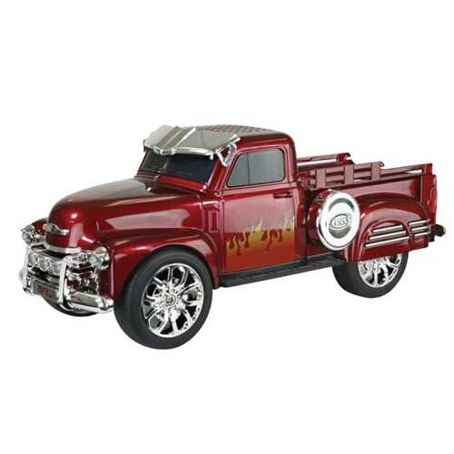 QFX BT-1953RED Chevy On the Go Light and Sound Bluetooth Speaker (Red)
