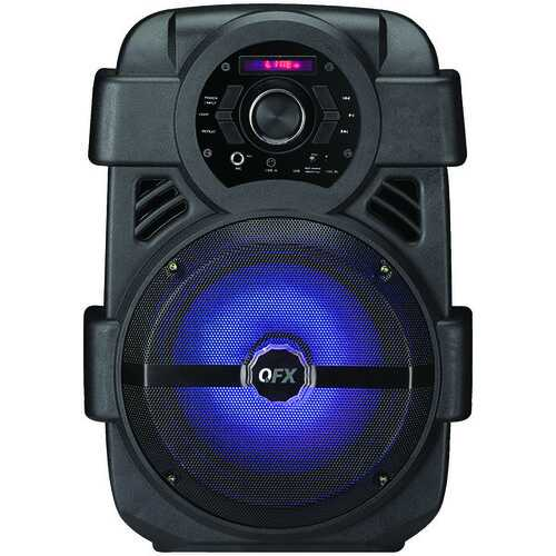 "QFX PBX-8 8"" Rechargeable Bluetooth Party Speaker"