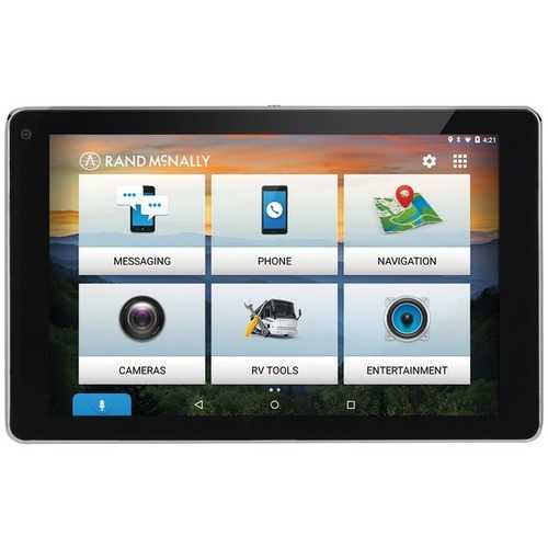 Rand McNally 0528018477 OverDryve 7 RV GPS Device with Built-in Dash Cam, Bluetooth & Free Lifetime Maps