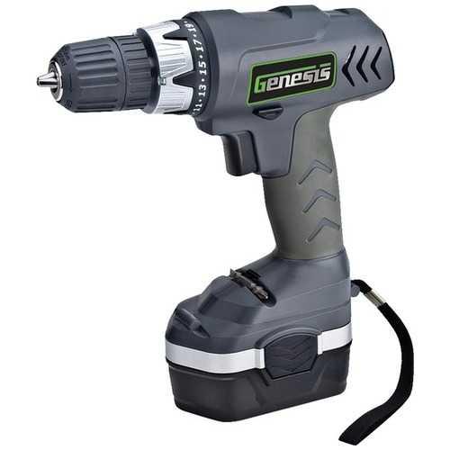 Genesis(TM) GCD18CP 18-Volt Cordless Drill/Driver