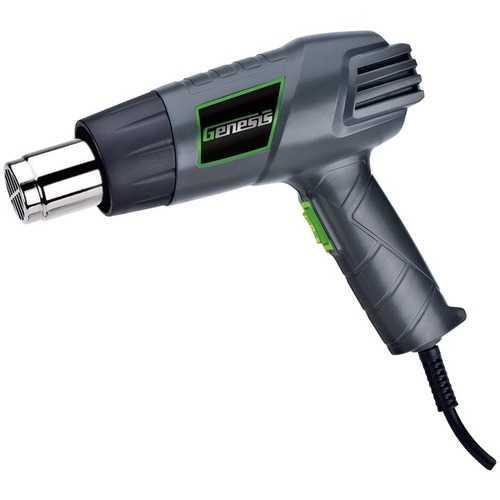 Genesis(TM) GHG1500A Dual-Temperature Heat Gun with Accessories