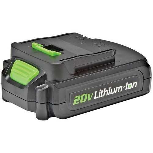 Genesis(TM) GLAB20A 20-Volt Li-Ion Replacement Battery