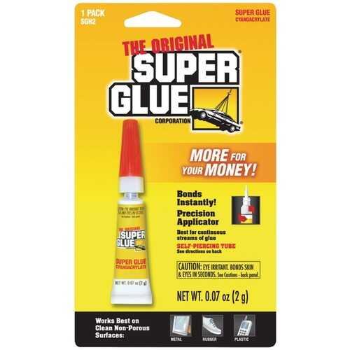 The Original SuperGlue SGH2-12 Super Glue Tube (Single Pack)