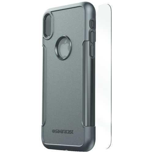 SaharaCase C-A-IX-BK Classic Protective Kit for iPhone(R) X (Black)
