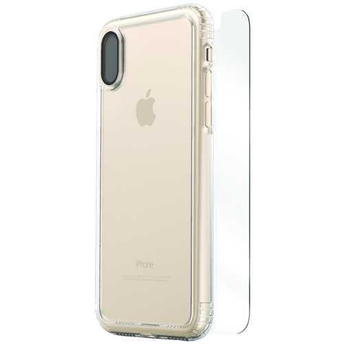 SaharaCase CL-A-IX-CL Clear Protective Kit for iPhone(R) X (Clear)
