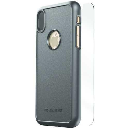 SaharaCase D-A-IX-BK dBulk Series Protective Kit for iPhone(R) X (Black)