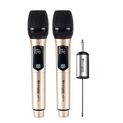 Blackmore Pro Audio BMP-14 Dual Handheld Rechargeable Wireless UHF Microphone System