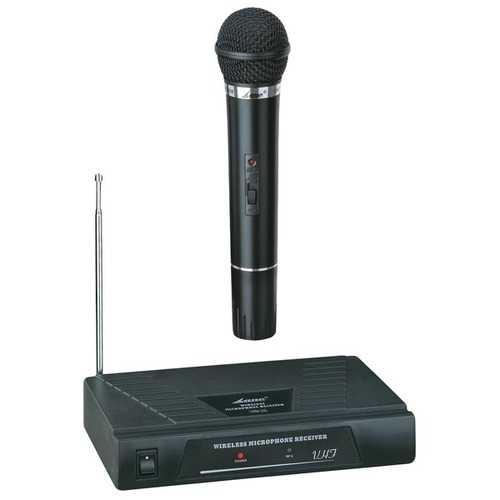 Blackmore Pro Audio BMP-50 BMP-50 Single-Channel VHF Wireless Microphone System with Handheld Microphone