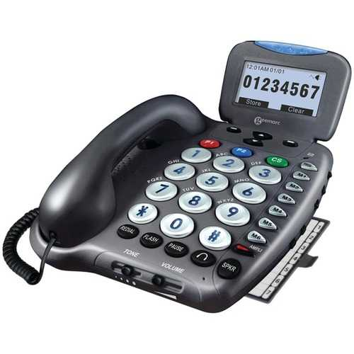 Geemarc AMPLI550 50dB Amplified Telephone with Talking Caller ID