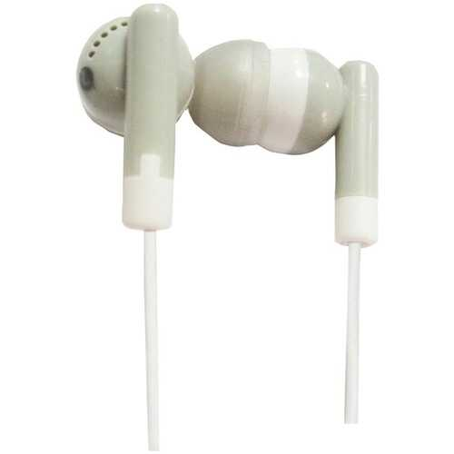 Supersonic IQ-101 GREY IQ-101 Digital Stereo Earphones (Gray)