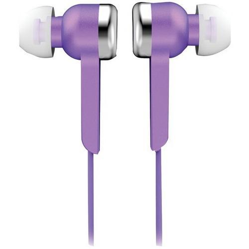 Supersonic IQ-113 PURPLE IQ-113 Digital Stereo Earphones (Purple)