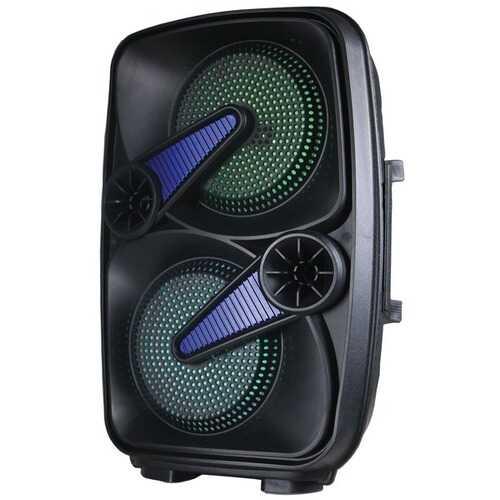 Supersonic IQ-7265DJBT- Blue 2 x 6.5-Inch Speaker with True Wireless Technology (Blue)