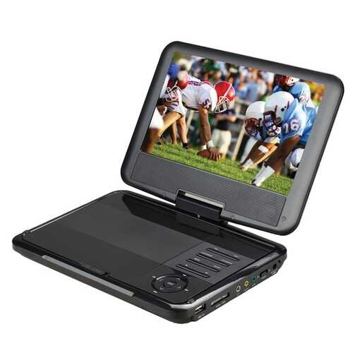 Supersonic SC-179 9-Inch Portable DVD Player with Swivel Display