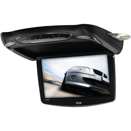"""Sound Storm Laboratories S13.3BGT 13.3"""" All-in-One Ceiling-Mount TFT Monitor & Multimedia Player with IR & FM Transmitters & 3 Color Housings"""