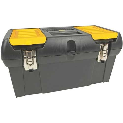 """STANLEY(R) 019151M 19"""" Tool Box with Removable Tray"""
