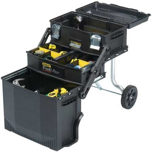STANLEY(R) 020800R FATMAX(R) 4-in-1 Mobile Work Station
