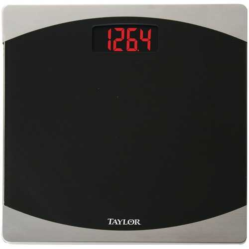 Taylor Precision Products 75624072 7562 Glass Digital Scale