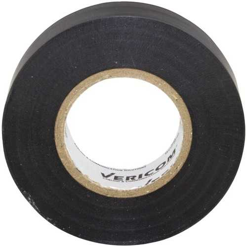 Vericom ELCTP-04788 Commercial-Grade Electrical Tape, 60 Feet