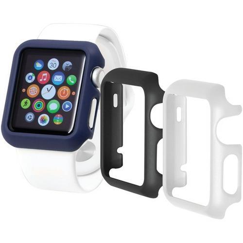 Trident(TM) Case OD-APWG04-BWL00 Apple Watch(R) Odyssey Guard Cases, 3 pk (42mm, Black/White/Blue)