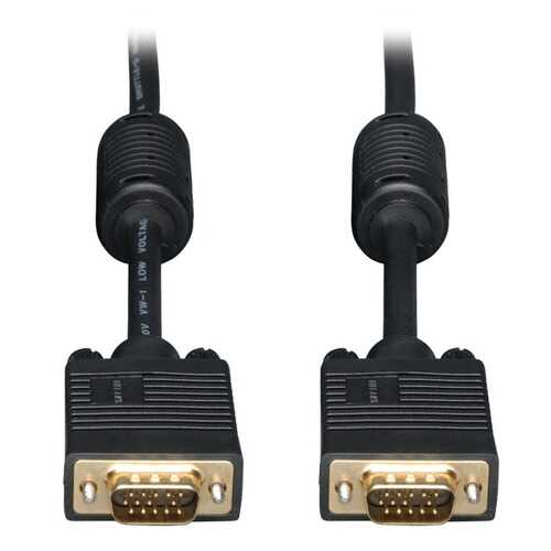 Tripp Lite P502-010 SVGA High-Resolution Coaxial Monitor Cable with RGB Coaxial (10ft)