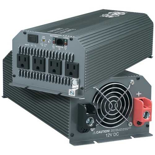 Tripp Lite PV1000HF 1,000-Watt-Continuous PowerVerter Compact Inverter for Trucks