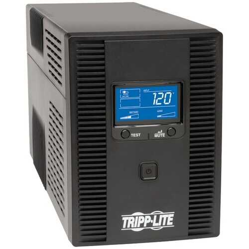 Tripp Lite SMART1500LCDT SmartPro LCD Tower Line-Interactive 1,500VA UPS with LCD Display & USB Port