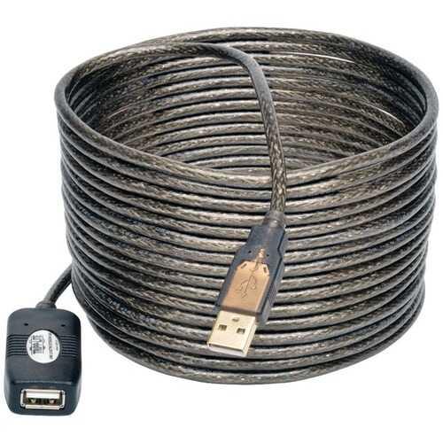 Tripp Lite U026-016 USB 2.0 Active Extension Cable, 16ft