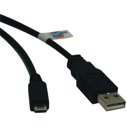 Tripp Lite U050-006 USB 2.0 Hi-Speed A-Male to Micro B-Male Cable (6ft)