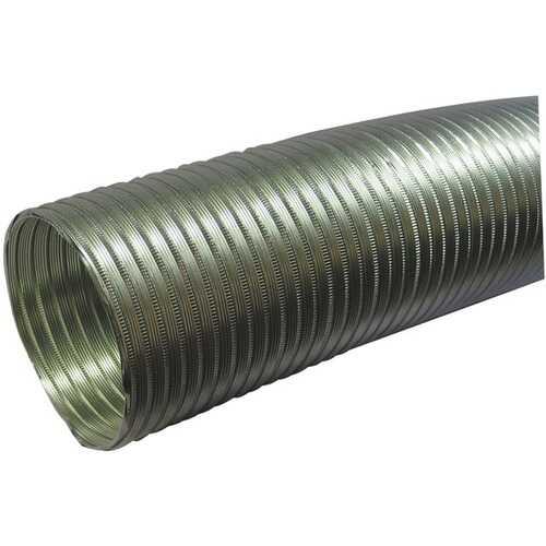 """Deflecto A058/5 Semi-Rigid Flexible Aluminum Duct (5"""" dia x 8ft)"""