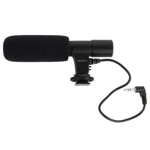 Vivitar VIV-MIC-503 Compact Shotgun Microphone