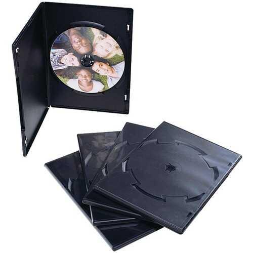 Verbatim 95094 CD/DVD Video Trimcases, 50 pk