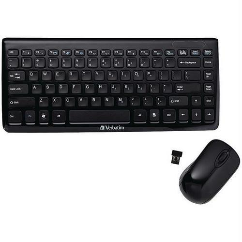 Verbatim(R) 97472 Mini Wireless Slim Keyboard & Mouse