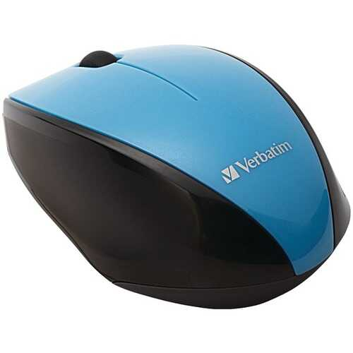 Verbatim 97993 Wireless Multi-Trac Blue LED Optical Mouse (Blue)