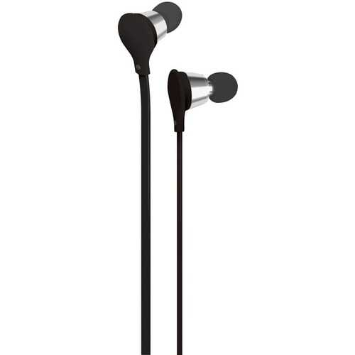 AT&T(R) EBM01-Black Jive Noise-Isolating Earbuds with Microphone (Black)