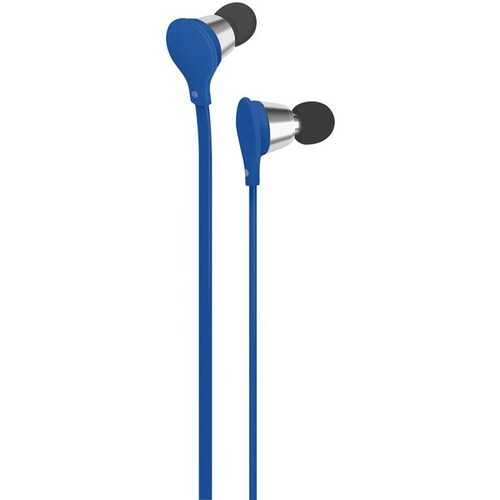 AT&T EBM01-Blue Jive Noise-Isolating Earbuds with Microphone (Blue)