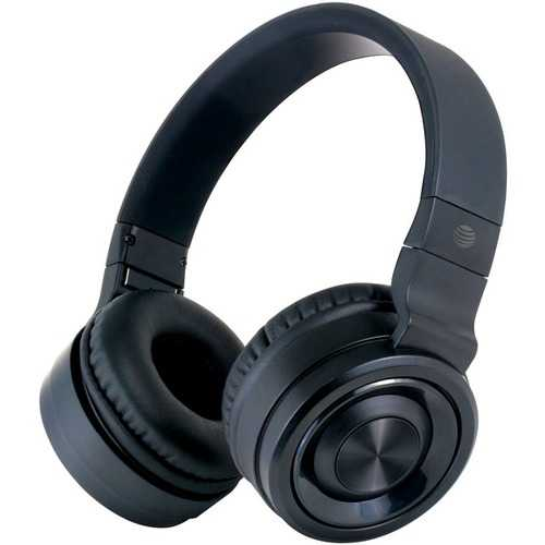 AT&T PBH20-BLK PBH20 Stereo Over-Ear Headphones with Bluetooth (Black)