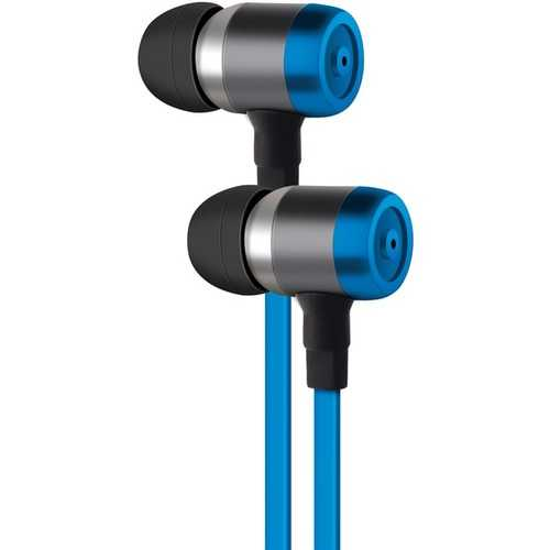 AT&T PE50-BLU PE50 In-Ear Stereo Earbuds with Microphone (Blue)