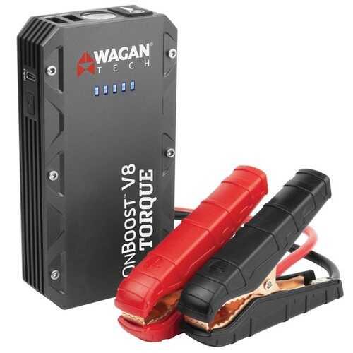 Wagan Tech 7505 iONBoost V8 TORQUE Jump Starter