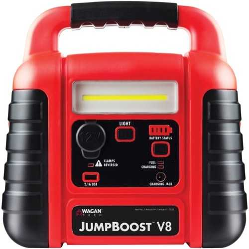 Wagan Tech 7553 JumpBoost V8 Jump Starter