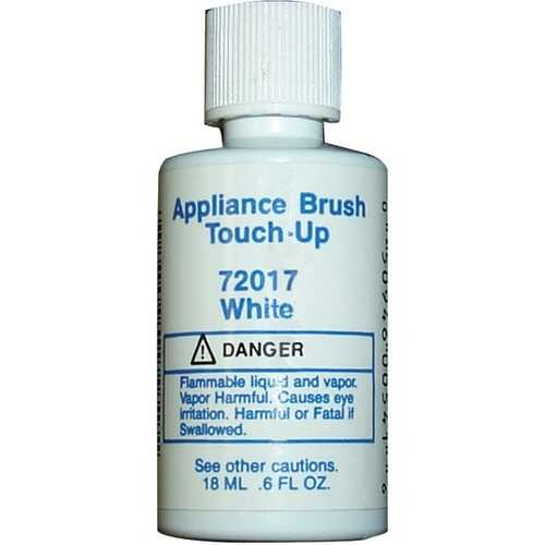 No Logo 72030 Appliance Brush-on Touch-up Paint (White)