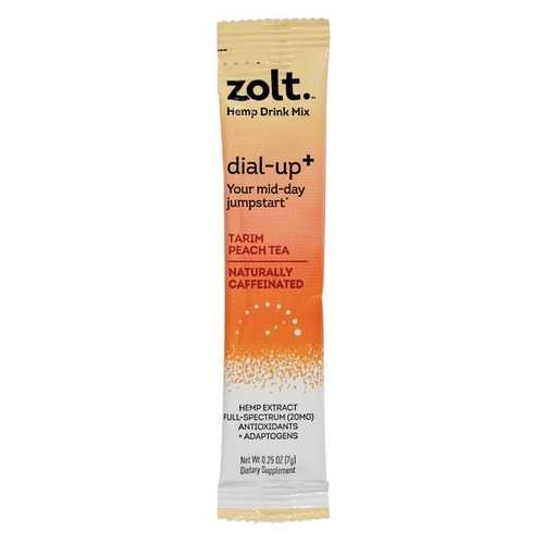 Zolt DU12001 Peach Tea Dial-Up+, 10 Pack