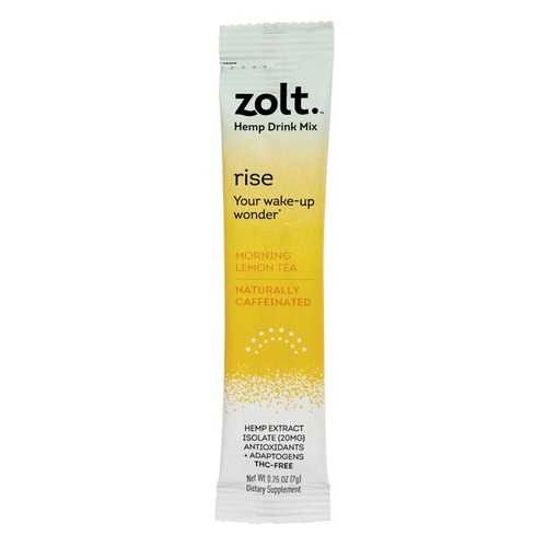 Zolt RI11001 Lemon Tea Rise Morning Mixie Stick, 10 Pack