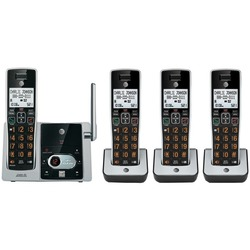 AT&T(R) ATTCL82413 DECT 6.0 Cordless Answering System with Caller ID/Call Waiting (4-handset system)